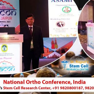 Stem cell therapy in Arthritis knee || by Dr Rajput, National ortho conference, India +91 9820800187