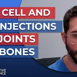 Stem Cell and PRP Injections for Joints and Bones