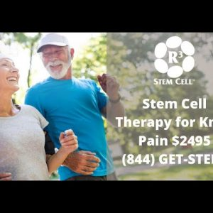 Stem Cell Therapy for Knee Pain (844) GET-STEM