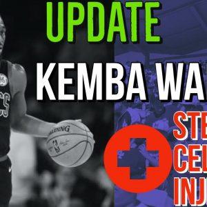 Celtics' Kemba Walker gets stem cell injection???