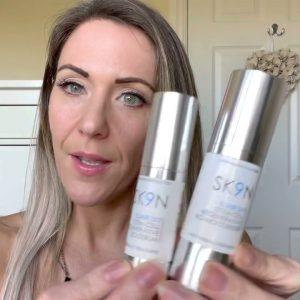 Review of SK9N Revolution Elixir Stem Cell Regenerative Anti-Wrinkle Moisturiser & Serum